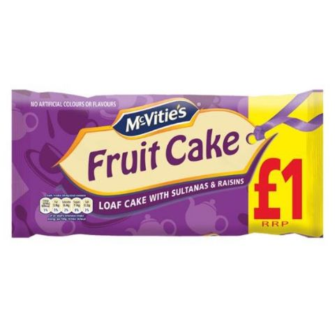 Fruit Cake Loaf McVitie's 200g